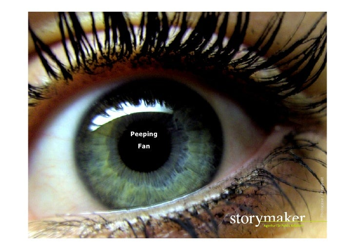 Peeping Fan: Das Ende der Sprache im Social Web