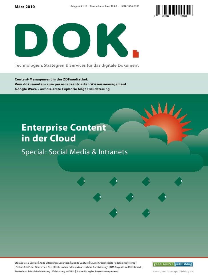 März 2010                                         Ausgabe #1-10    Deutschland Euro 12,00      ISSN: 1864-8398            ...