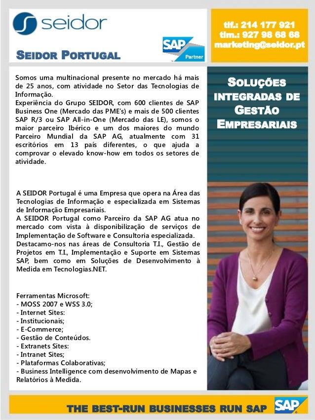 Soluções SAP_Parceiro SEIDOR