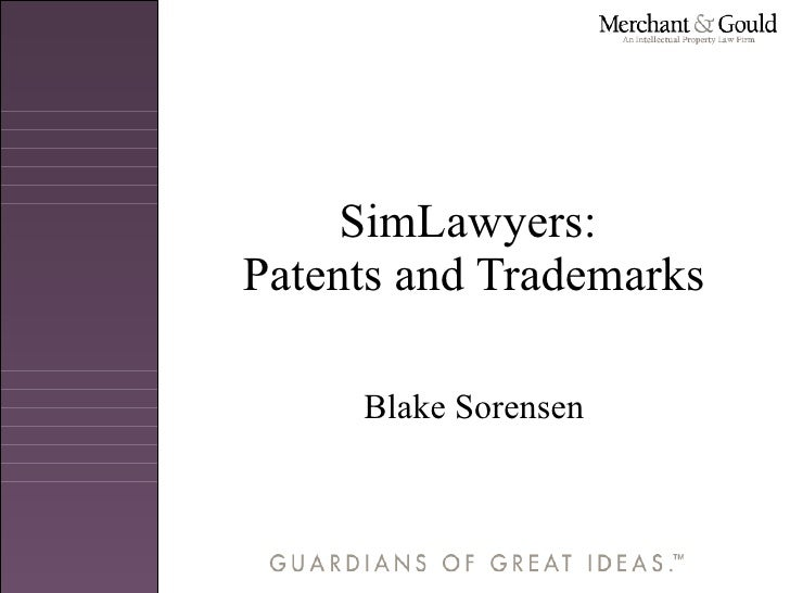 Patents and Trademarks