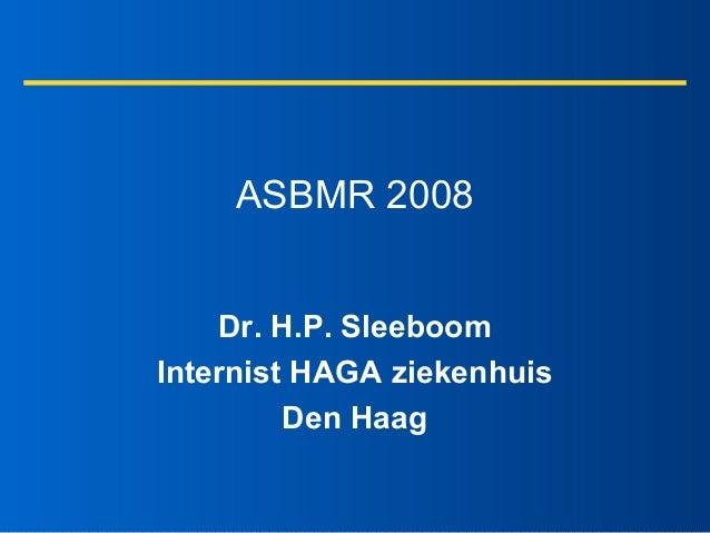 Seminar 08-10-2008 - asbmr 2008