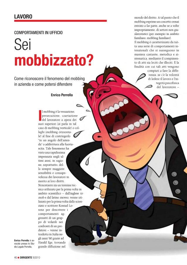Sei mobbizzato?
