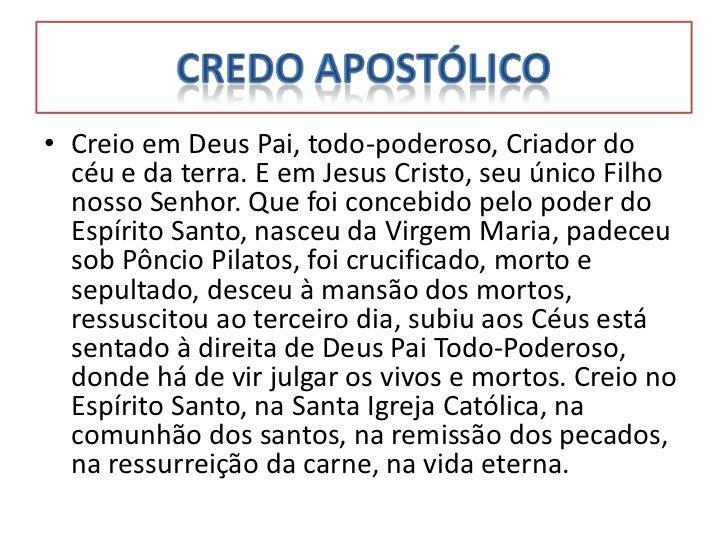 Populares Centro Espirita Águas de Nanã: Credo Oração OQ03