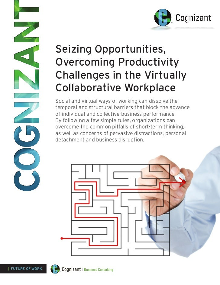 Seizing Opportunities,                   Overcoming Productivity                   Challenges in the Virtually            ...