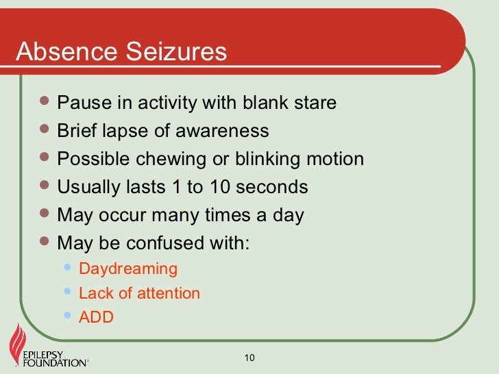 What are silent seizures in adults?