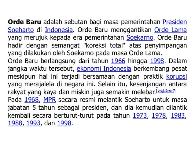 Indonesia Soekarno Era Era Pemerintahan Soekarno