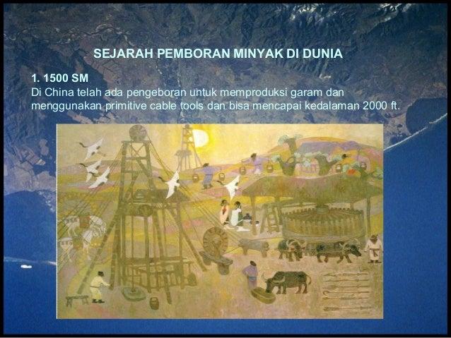 Sejarah pemboran minyak di dunia