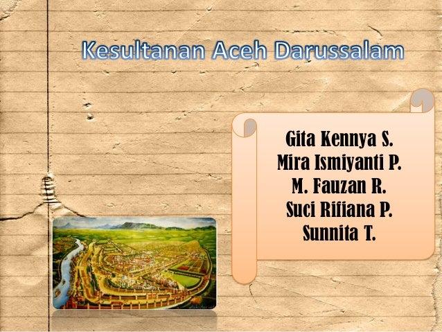 Kerajaan Aceh Darussalam