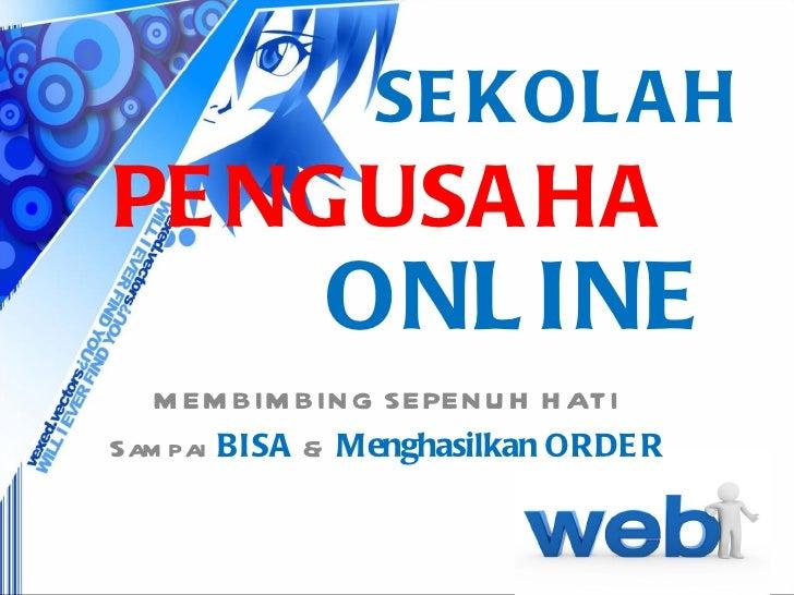 Sekolah Pengusaha Online