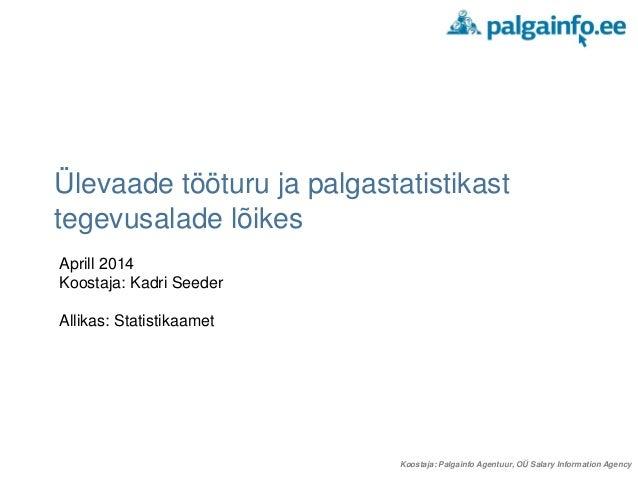 Sektorite palgastatistika apr_2014
