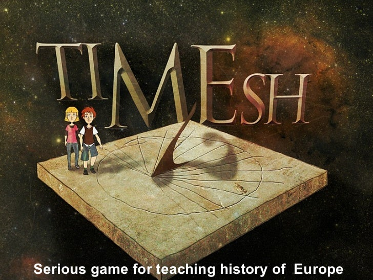Serious game for teaching history of  Europe