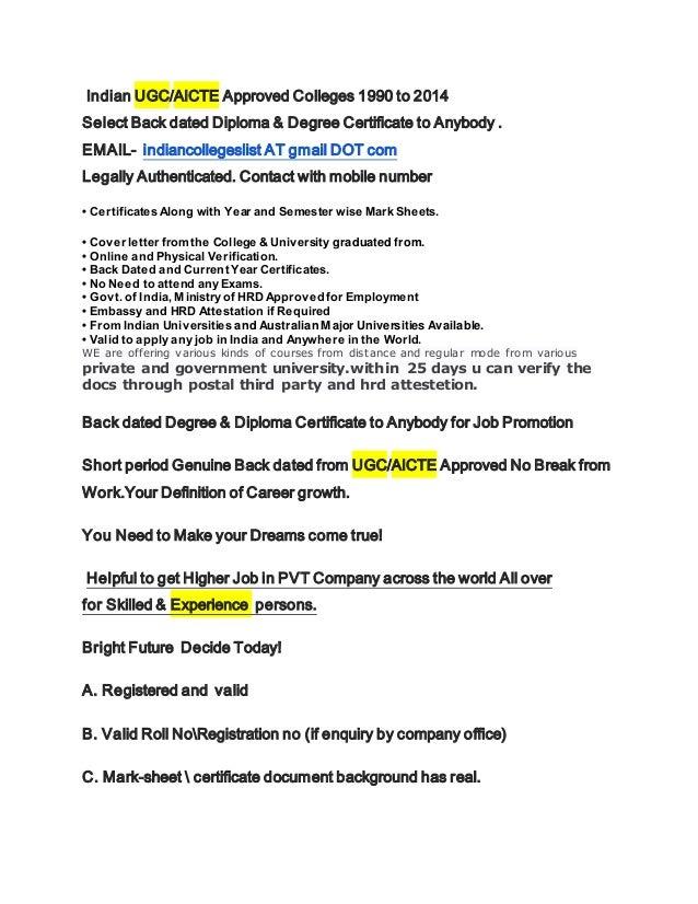 Degree Online Online Degree Verification India