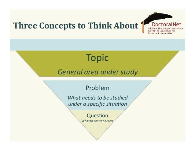 Doctoral dissertation problem statement