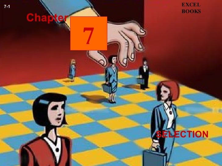 SELECTION Chapter EXCEL BOOKS 7-1 7