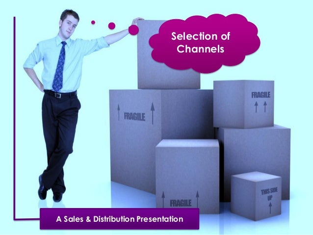 Selection of Channels A Sales & Distribution Presentation