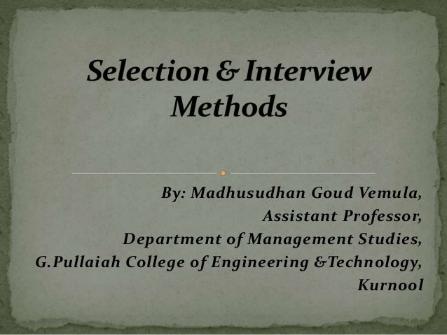 By: Madhusudhan Goud Vemula, Assistant Professor, Department of Management Studies, G.Pullaiah College of Engineering &Tec...