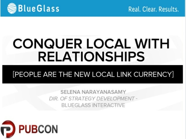 Conquering Local SEO with Relationships