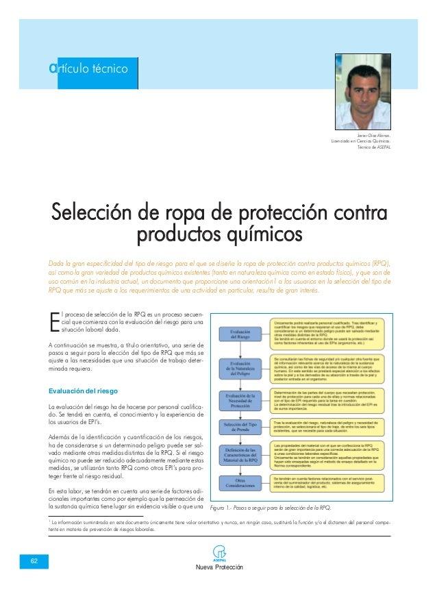 Nueva Protección 62 artículo técnico E l proceso de selección de la RPQ es un proceso secuen- cial que comienza con la eva...