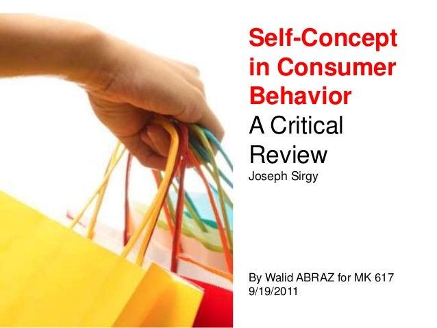 9/19/2011 Self-Concept in Consumer Behavior