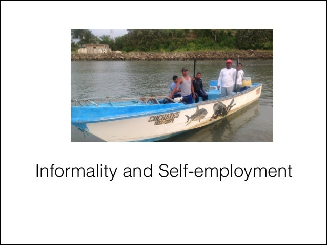 Informality and Self-employment