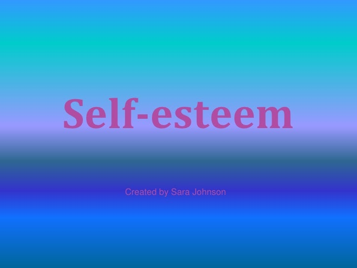 how to build healthy self esteem in adults