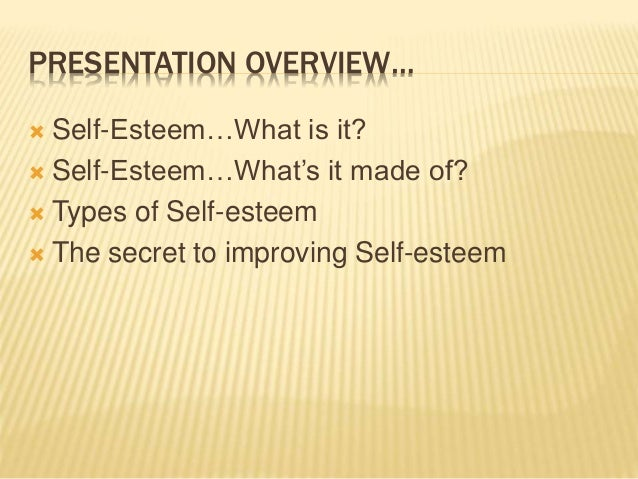 improving self esteem and interpersonal communication Research suggests that our self-esteem interacts with three important interpersonal needs that affect how we communicate with other people these are the need for control, the need for inclusion, and the need for affection.
