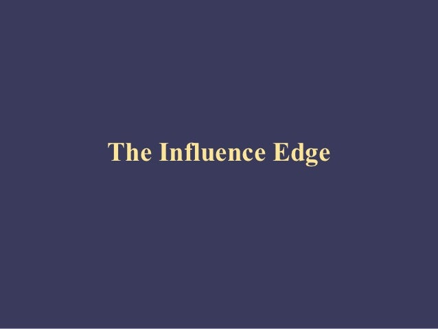 Self management the-influence_edge_model
