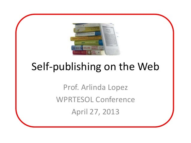 Self publishing on the web