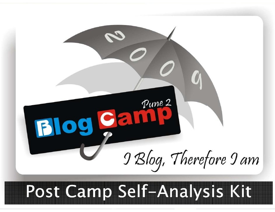 Self- Post Camp Self-Analysis Kit