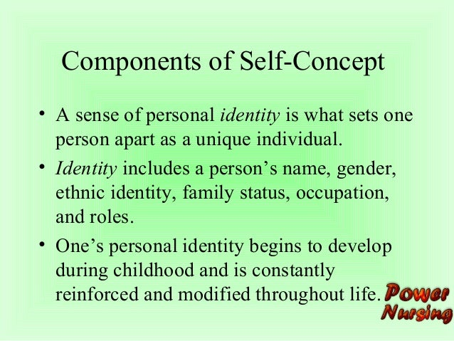 give an example of how your self concept self image or self esteem has affected your interpersonal c E people usually do not want to change their self-concept answer: d both a and c interpersonal communication is the to form our self-image and self esteem.
