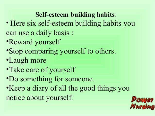 self esteem building worksheets