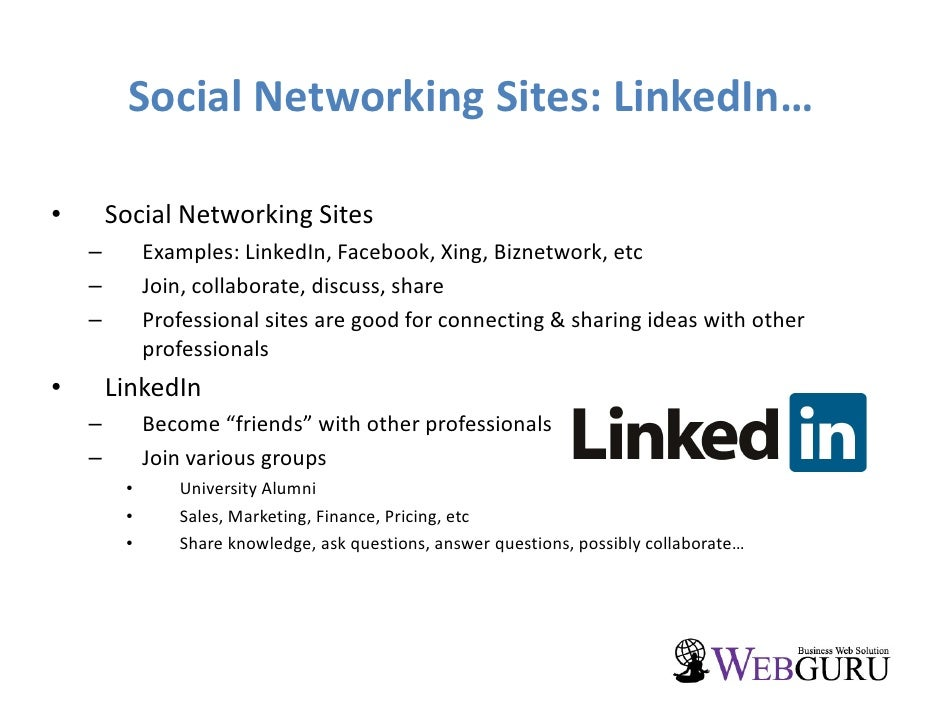 Social Networking Sites Essay