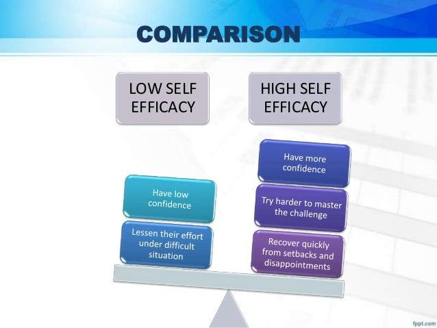 High Self Efficacy Transcript of Self Efficacy