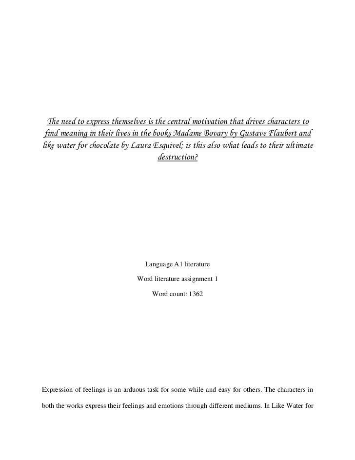 World Lit Essay 2012