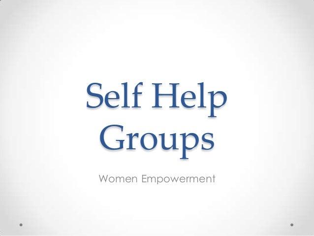 Phd thesis on self help groups
