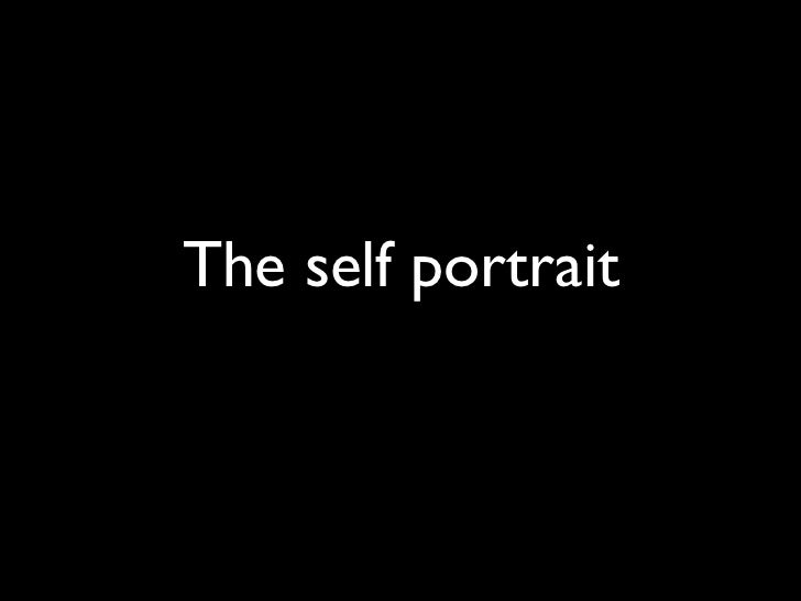 The self portrait