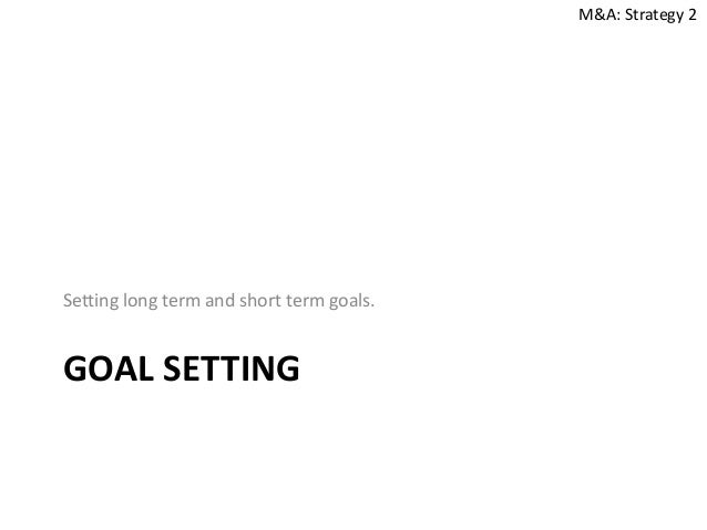 Long term career goals essay