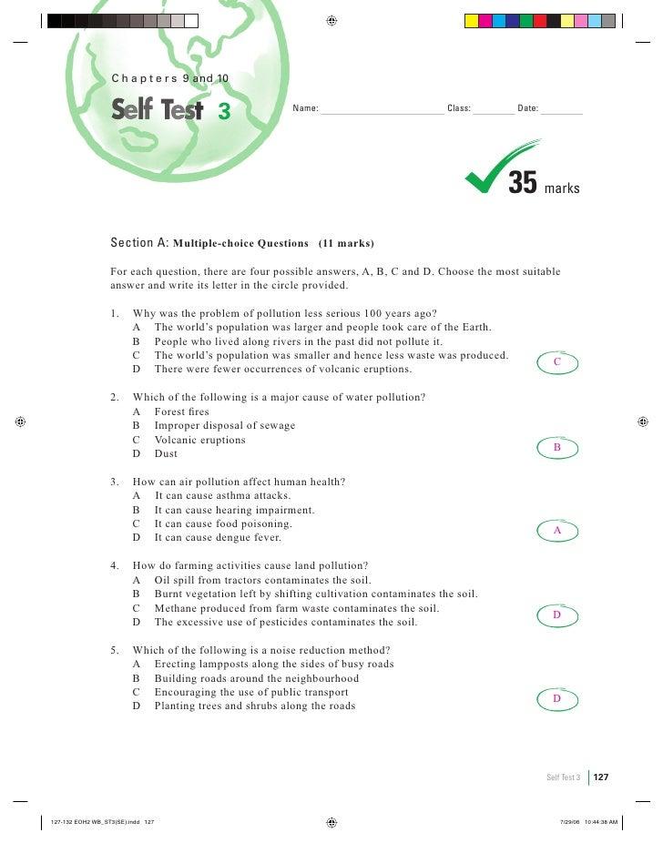 Self test 3