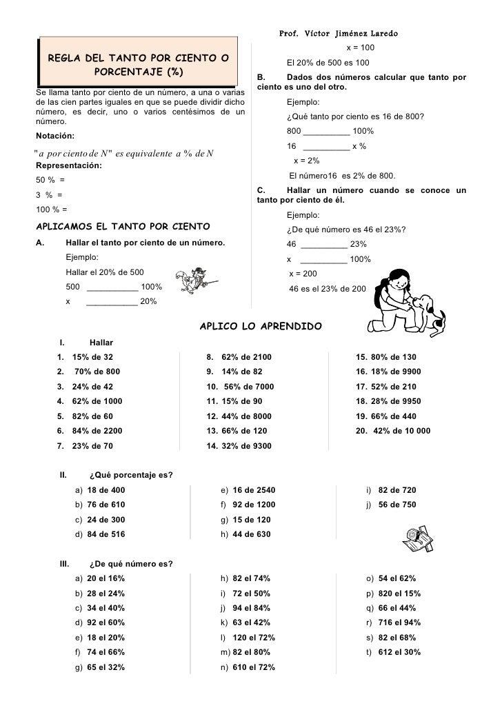 Prof. Víctor Jiménez Laredo                                                                                 x = 100     RE...
