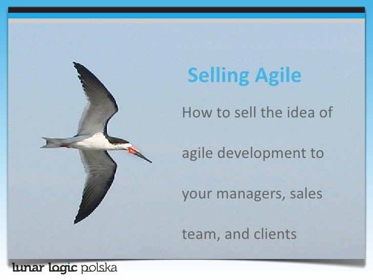 Selling Agile