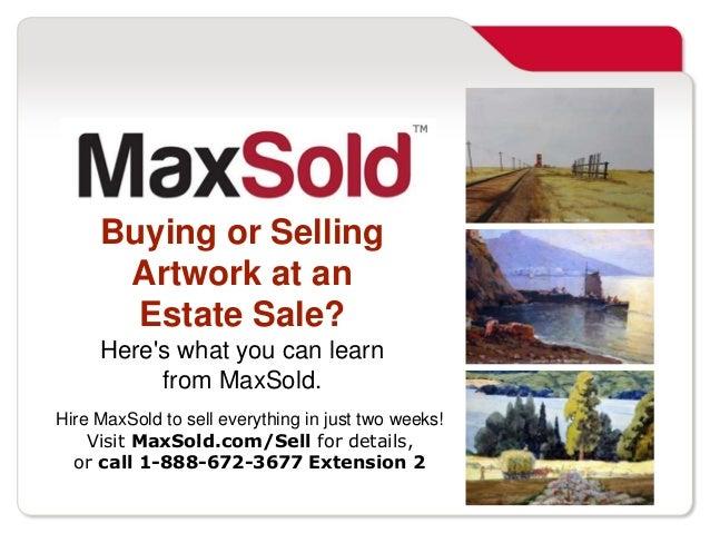 Estate Sale Artwork Artwork at an Estate Sale