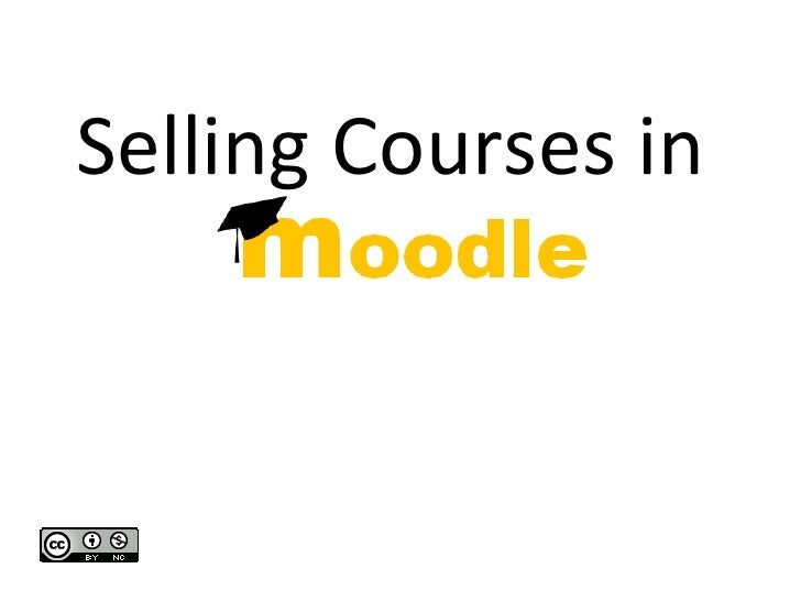Selling Courses in