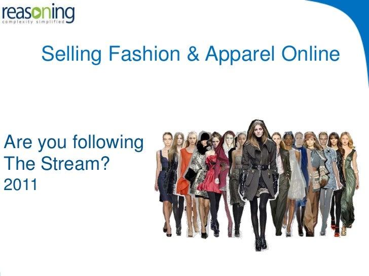 Selling Fashion & Apparel Online