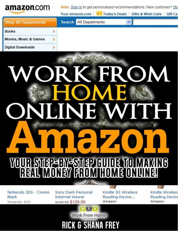Selling On Amazon To Work From Home Online