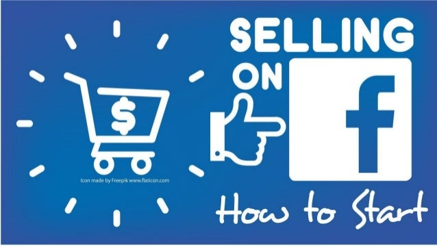 how to create a facebook selling page