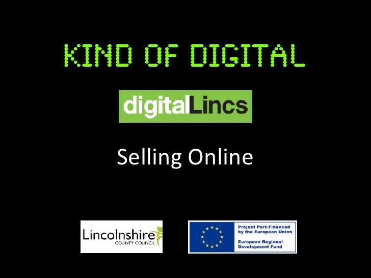 Selling Online Slides