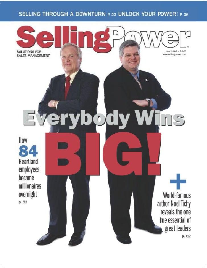 Selling Power Magazine