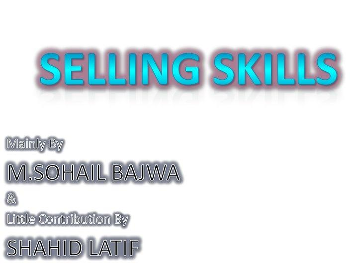 Selling Skills Pharmaceutical call handling
