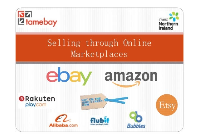Selling Through Online Marketplaces - Advanced
