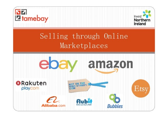 Selling through OnlineMarketplaces